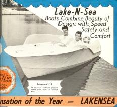 1957 Lakensea Boat Corporation brochure (courtesy of Lee Wangstad)